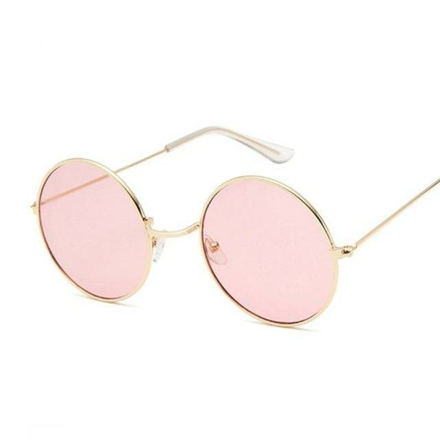 Women's Retro Mirror Round Sunglasses High Fashion