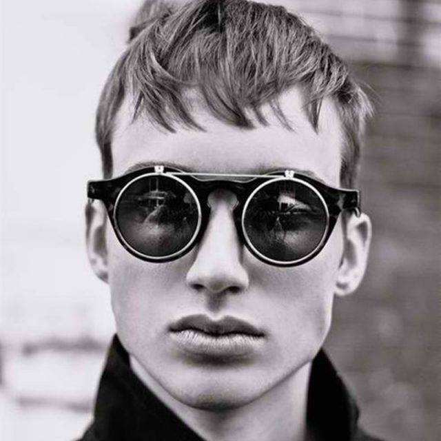 Men's Round Shaped Sunglasses Unique
