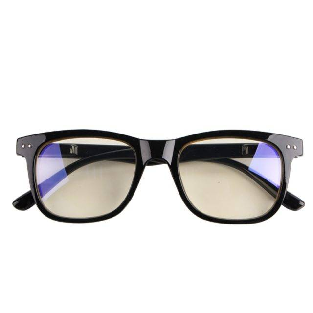 Women's Fashion Anti-Blue Light Square Eyeglasses Glare Resistant & Blue-Blocker Lenses
