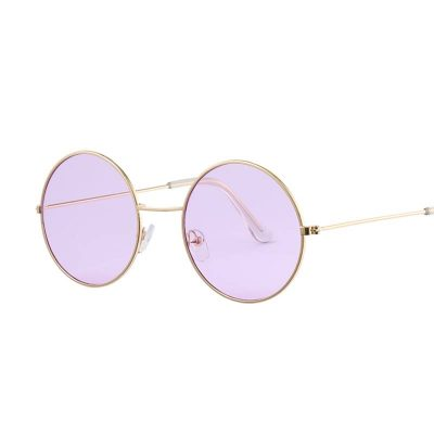 Vintage Round Mirror Sunglasses Colorful