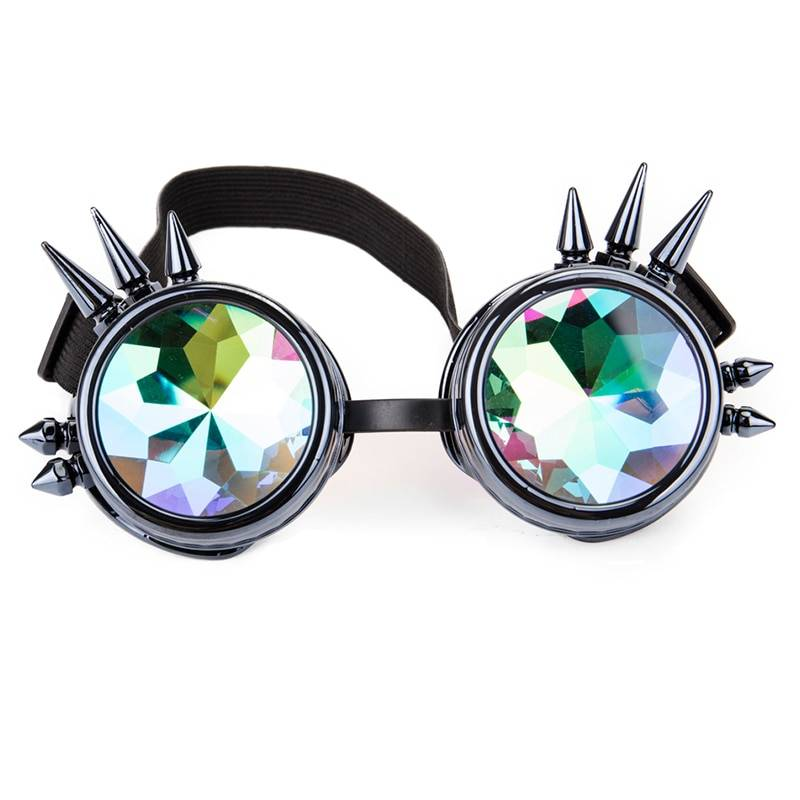 Kaleidoscope Design Rainbow Party Sunglasses Unique