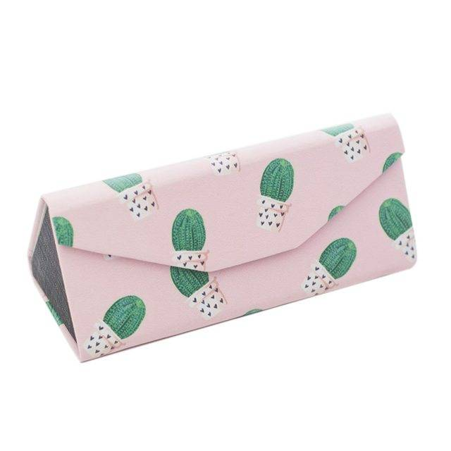 Patterned Folding Glasses Case Cases & Organizers