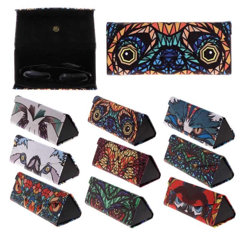 Triangle Foldable Glasses Case Cases & Organizers