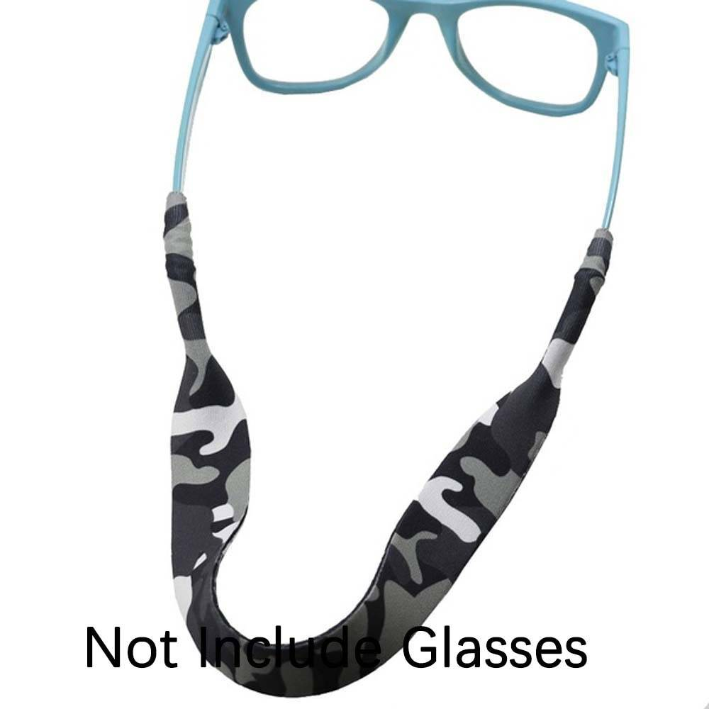 1pcs Camo Pattern Eyeglasses Lanyard Neck Cord Sunglasses Strap Band Sports Glasses Cord Eyewear Strap Eyeglass Chain